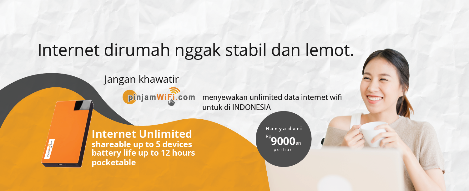 Rental Pocket Wifi Hotspot International Pinjam Wifi